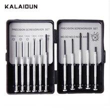 KALAIDUN Precision Screwdriver Kit 11 In 1 Portable Watch Cl