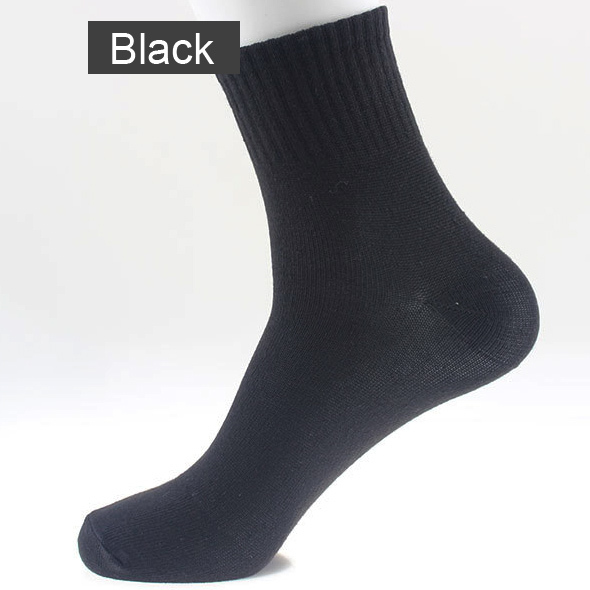 New Real Meias Black Gray White 3 Colors Sock Lowest Price Blending Material Casual Socks Brand Quality For Men Good Quality