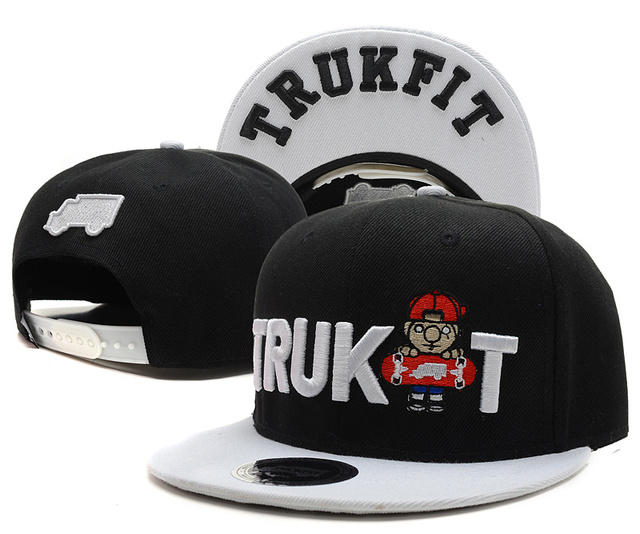 Newest trukfit hip hop fitted hat baseball cap Property Casual Outdoor  sports snapback hats cap for
