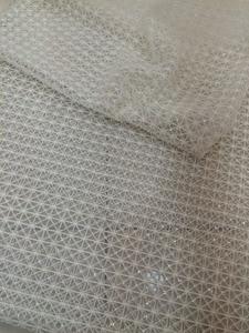 Image 4 - スーパー品質LJY 53103刺繍アフリカレース生地でフルビーズ用ブライダルドレス