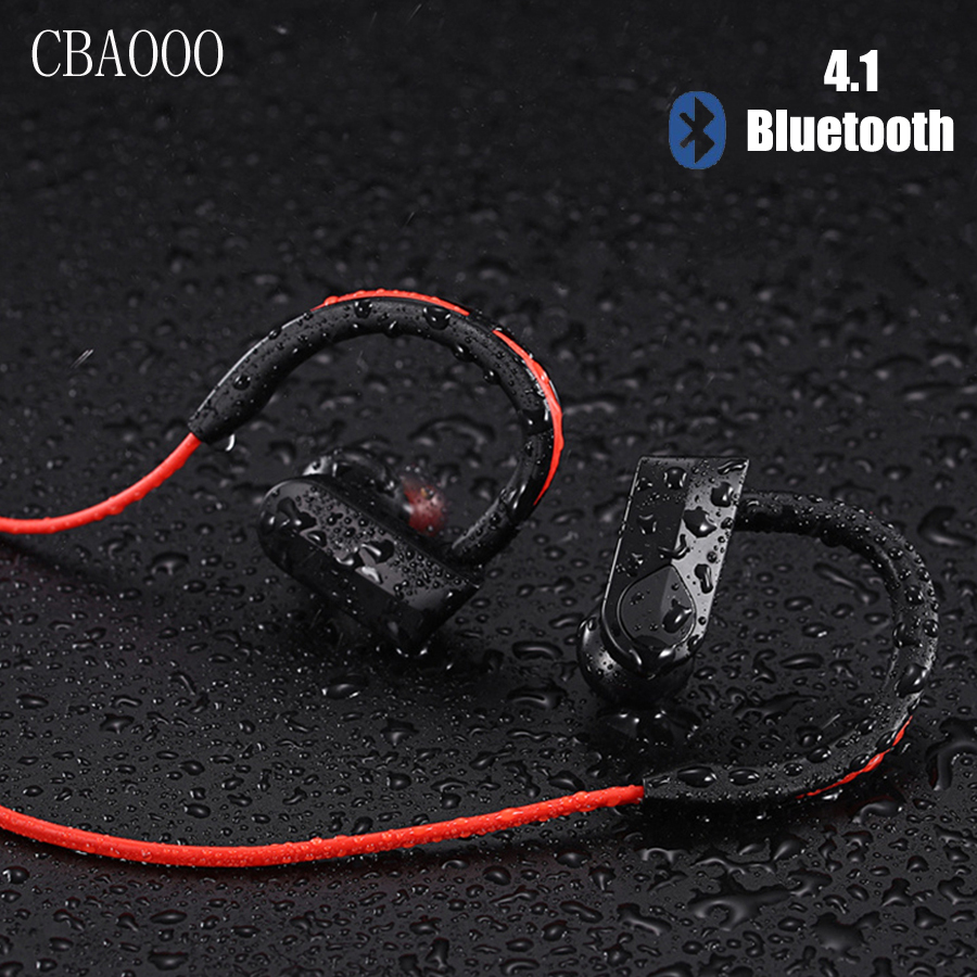 Sport Bluetooth Earphone Headphones With Microphone Stereo Wireless Earbuds Bluetooth Headset For