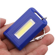 4 Colors Portable Mini Keychain Key Ring LED Flashlight COB LED Single Mode 300LM Mini Pocket Torch Lamp Light LED Linternas