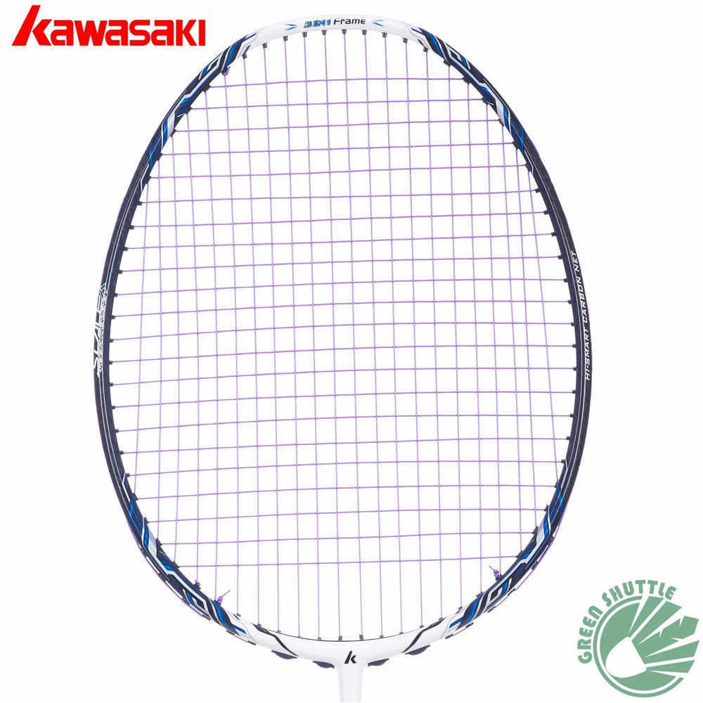 100% Original Kawasaki Master 600 700II 800II Badminton Racket 3 IN 1 Box Type  Frame with Scale X Technology Raquete Badminton