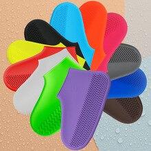 дешево!  Многоразовые чехлы от дождя Водонепроницаемые резиновые противоскользящие резиновые сапоги Подошв