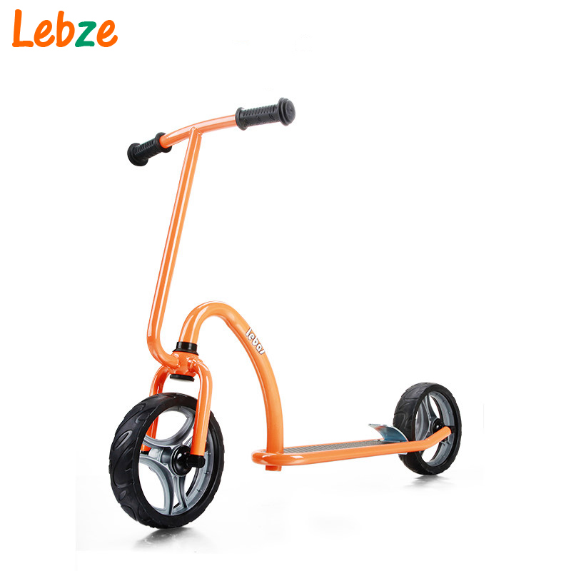 цена на Two Wheels Children Kick Scooter Kids Ride on Toys for 3-6 Years Baby Outdoor Foot Scooter
