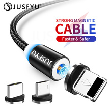 2.4A For Samsung Xiaomi 1M 2M Magnetic Micro USB Cable Fast Charging USB Type C Cable Magnet Charger Data Charge Cable USB Cord все цены