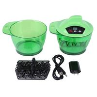 320mL Electric Hair Coloring Bowl Automatic Hairs Dyeing Cream Mixer US Salon Hair Care Styling Tool Dyeing Tool