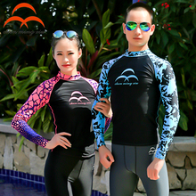 Outdoor Diving Clothes Shirt Snorkeling Jellyfish Swim Women Men Long Sleeve High Quality Sun Proof Warm Waterproof Swimwear