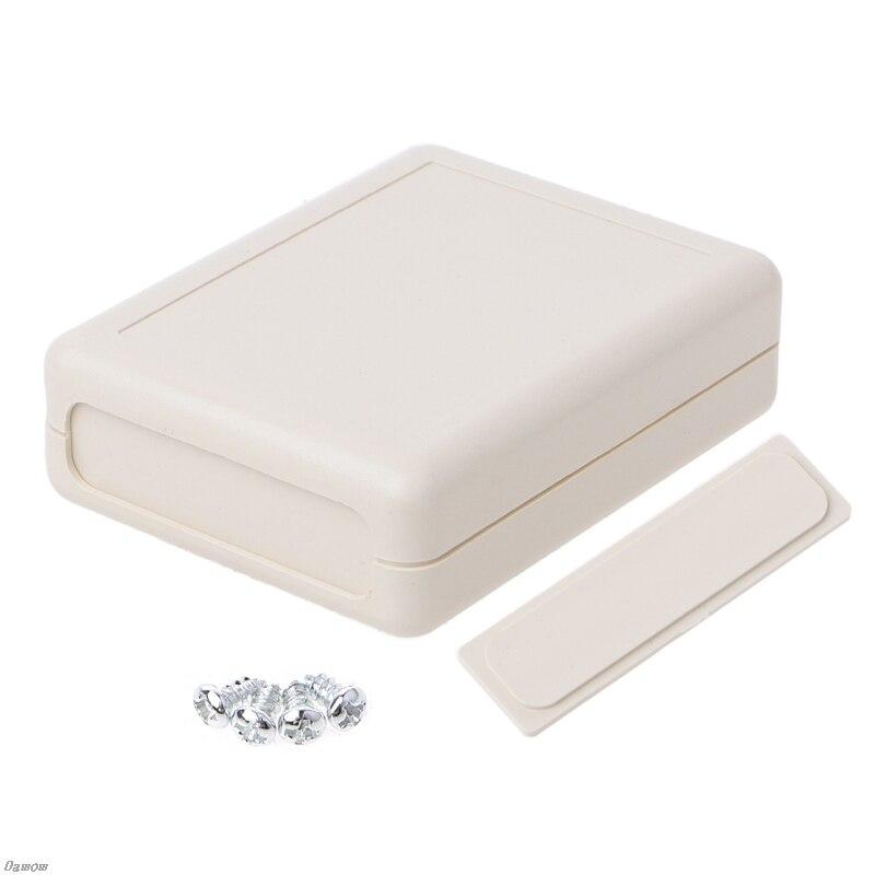 Waterproof Instrument Box Plastic Case Gray Electronic Project DIY 90x70x28mm Damom