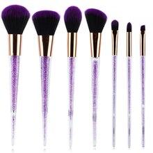 Crystal Brush Makeup Set Portable Makeup Brush