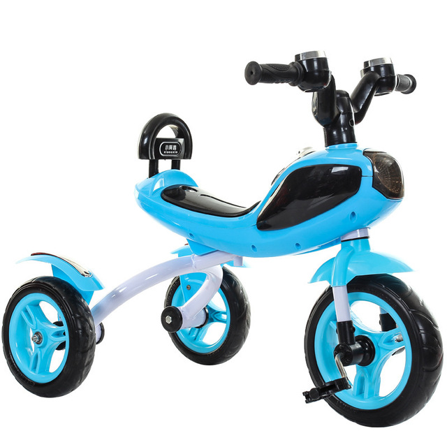 Children Tricycle Bicycle Cool Music Light Whistle Kids Three Wheels