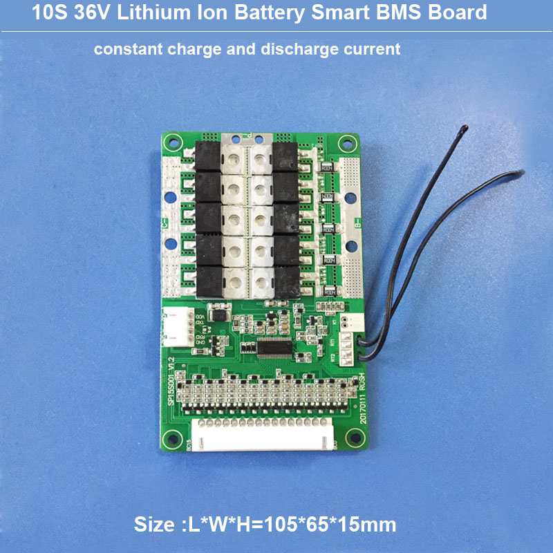 US $63 0 |10S 36v electric motrocycle Battery BMS software PCB board with  communication function for 42V li ion or Lipo Battery pack -in Integrated