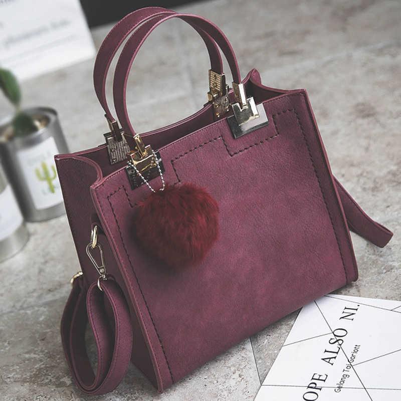 6839f643 ... Горячая Распродажа Сумочка женская повседневная сумка женский большой  плеча сумки высокого качества Искусственная кожа Сумочка с ...
