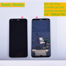 For LG Q7 Q610NM Q610ZM Q610EM Q610 LCD Display Monitor Touch Screen Digitizer Q7  Q7 Plus Q610EA Q610NA Q610Y LCD with Frame