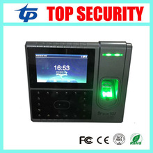 Iface502 1500 users face and fingerprint time attendance and access control system optional back up battery TCP/IP communication