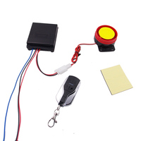 Motorcycle Scooter Anti-theft Security Alarm System Remote Control Arming Disarming Moto Alarm Speaker Motorbike Protection