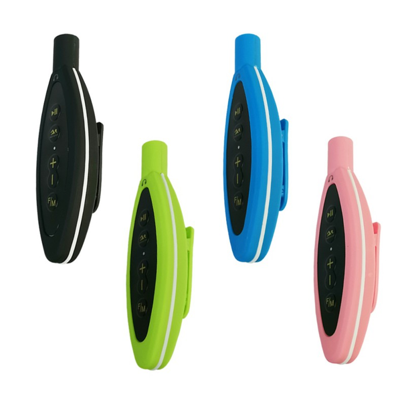4GB Waterproof MP3 Player FM Radio 4GB Outdoor Sport Music Player Mp3 With Headset For Swimming Diving Surfing Cycling