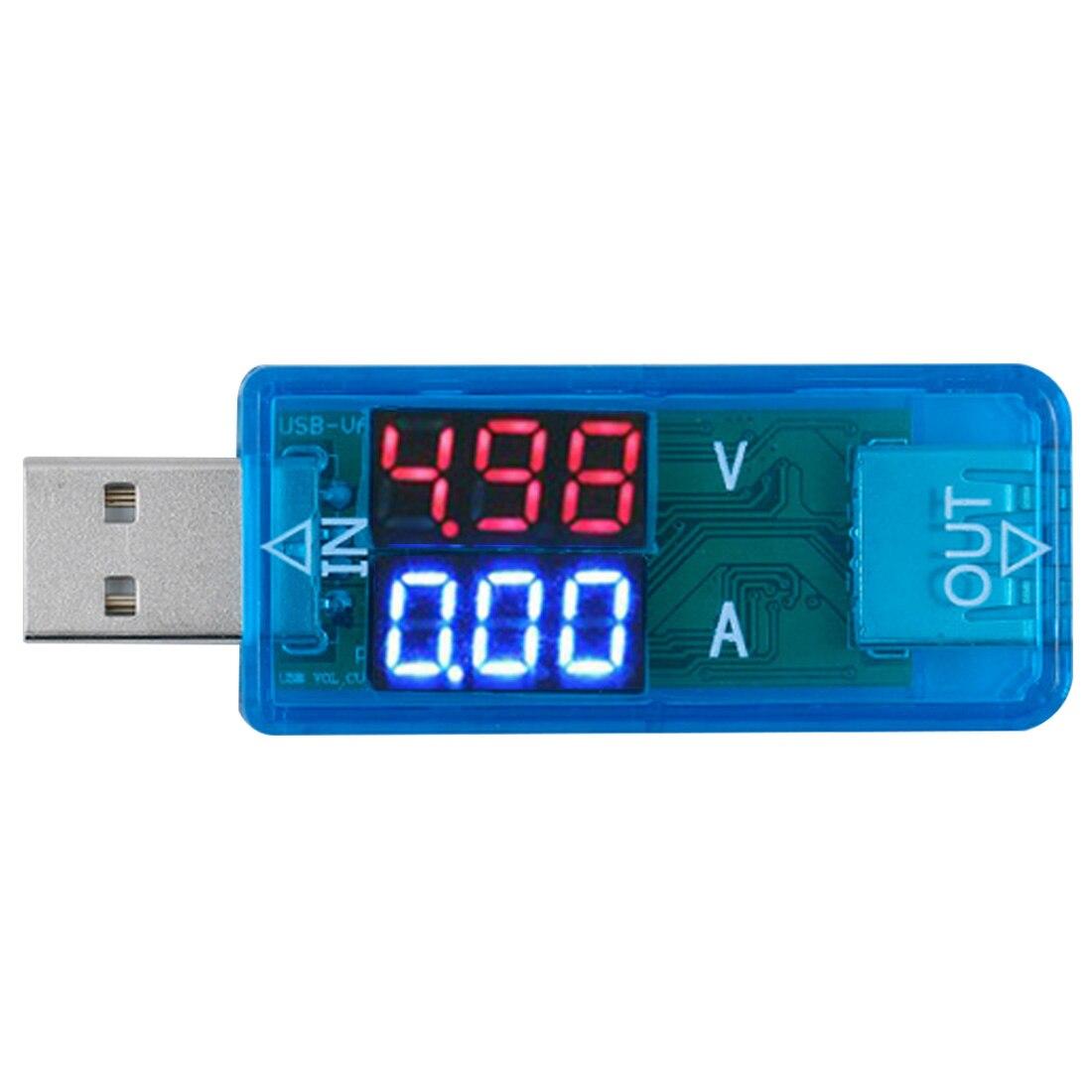 Mini USB Charger Doctor Voltmeter USB Mobile Power Charging Current Voltage Tester Meter DC3.2-10V 0-3A Electronics Digital