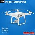 Dji phantom 4 pro drone con 4 k cámara de alta definición de 1 pulgadas 20MP CMOS 5 Dirección sistema de Detección de Obstáculos el Quadcopter GPS En Stock Original