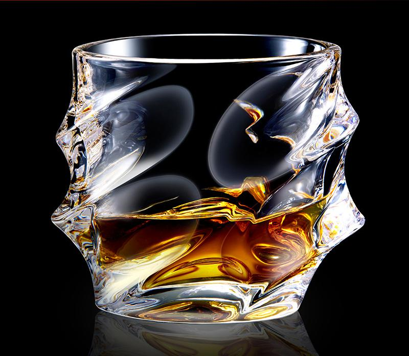 Coffee Mug Glass Lead free Crystal Creative Individuality Square Whisky Wine Cup Special shaped Spirit Cocktail Shaped Novel