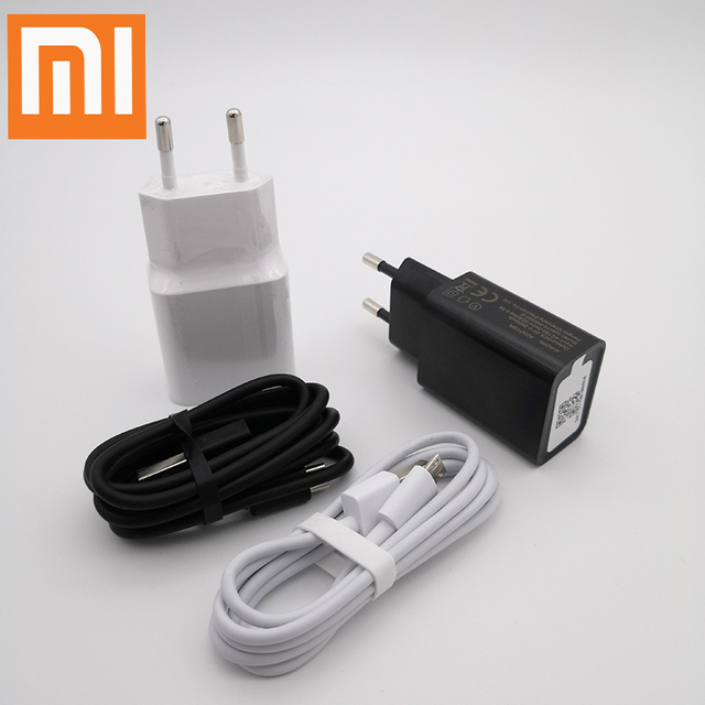 XIAOMI redmi Note5 orijinal şarj cihazı 5V 2A güç adaptörü, USB veri kablosu redmi 5 5 artı 4X Note4x MI4 redmi 4 4A 5A 5 artı