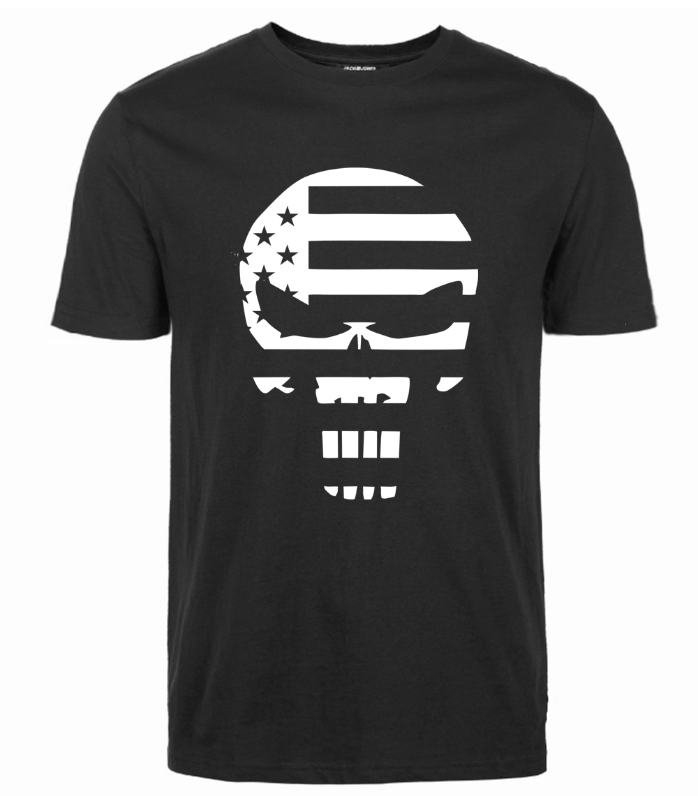 2019 Men New  Printed T Shirt Spring Summer Short-Sleeve O-Neck T-shirts  Rock Casual the superhero Fashion StreetWear Tops