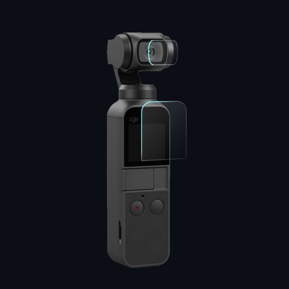 Camera-Lens Display-Accessories Pocket DJI for OSMO And 4pc/Lot Screen-Film New