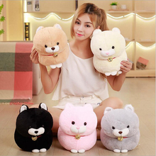 цена на Lovely Fat Fortune Cat Short Plush Toy Stuffed Animal Plush Doll Send to Children Toy 30cm