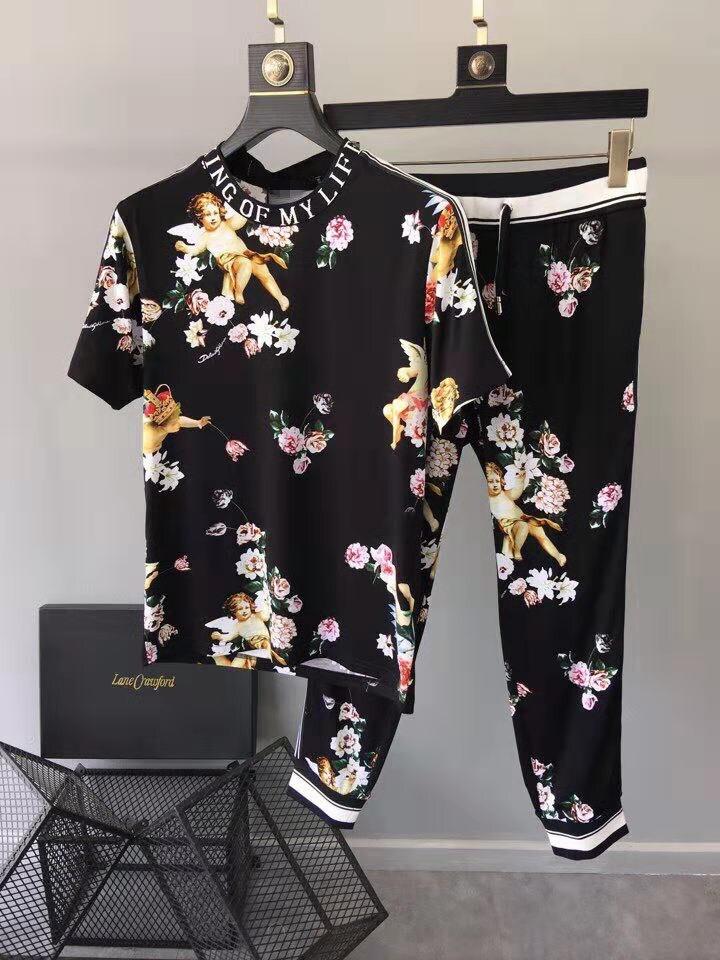 Модные Для мужчин наборы 2019 взлетно посадочной полосы роскошь известный бренд Европейский дизайн вечерние стиль Мужская одежда WD03467