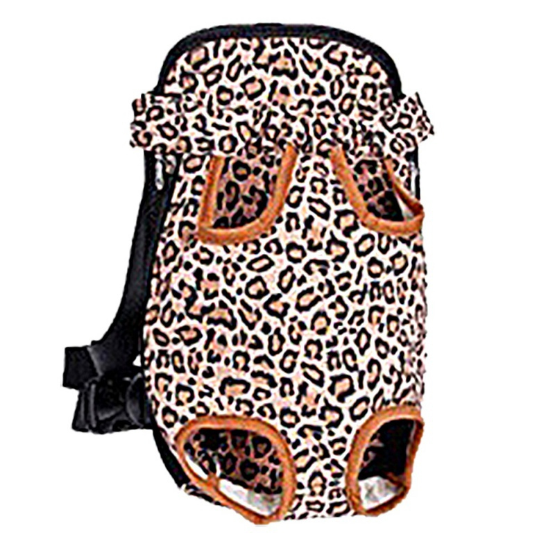 Pet Carrier Shoulders Back Front Pack Dog Cat Travel Bag Mesh Backpack Travel Adjustable Shoulder Strap
