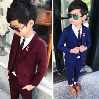 Suit for Boys Kids 3PCS Blazers Wedding Boy Suits for Wedding costume enfant garcon mariage 3 10Y