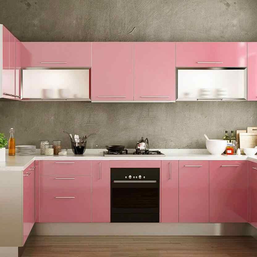 Lindo Papel Pintado De Color Rosa Chicas Dormitorio Decoracion