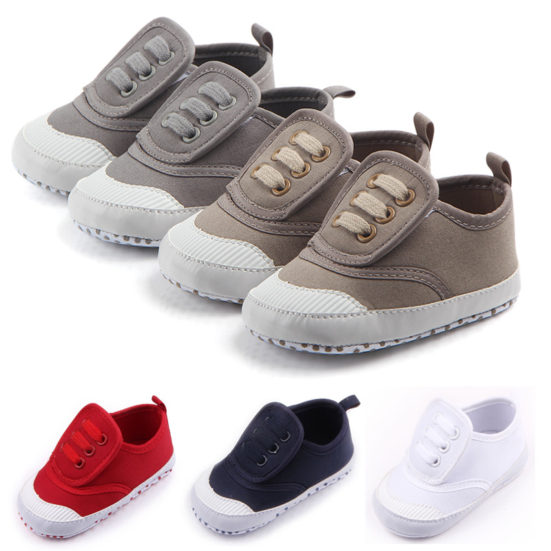 Baby Shoes 2018 Fashion Toddler Infants Shoes Baby Boys Shoes First Walkers Canvas Sneaker