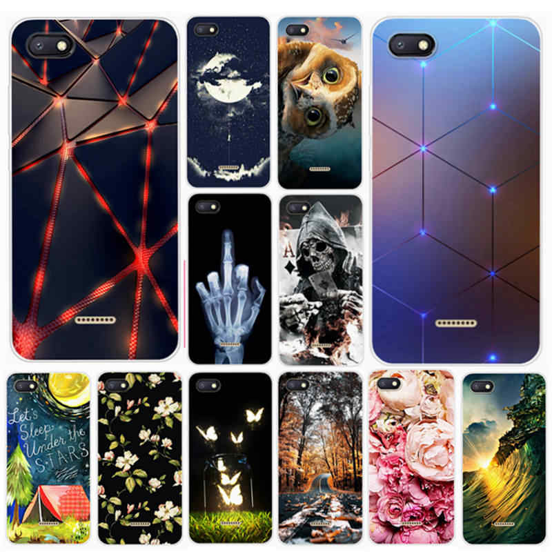 Redmi 6A Case For Xiaomi Redmi6A Cover Soft Silicon Smartphone Back Cover TPU Case For Xiaomi Redmi 6A Bag Case 2 32 gb 4gb 64gb