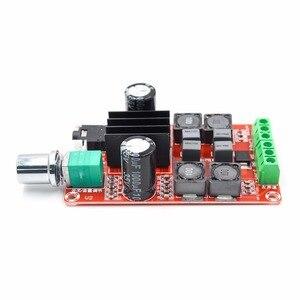 Image 4 - Tpa3116d2 2x50w placa amplificador de potência digital 5v a 24v duplo canal estéreo amp