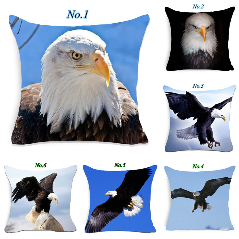 Cushion Cover Vintage Wholesale Pillow Case Eagle Head High Heels Wintersweet Kussenhoes Home Decorative Throw Pillow Cover