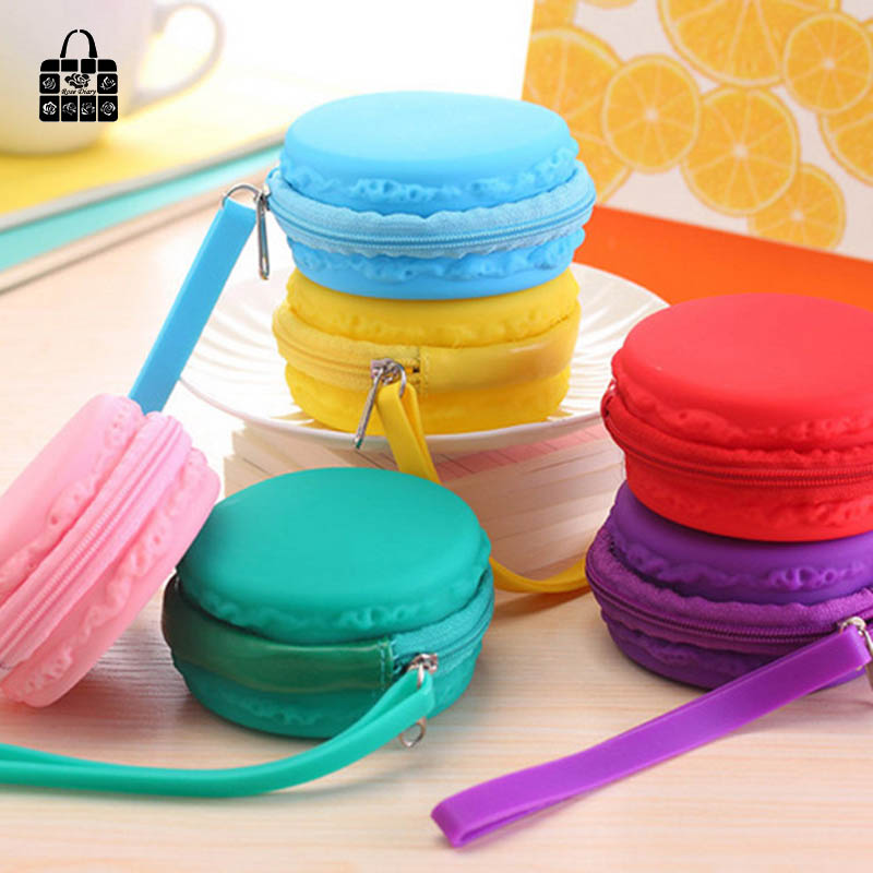 RoseDiary candy color macarons silicone girl coin purses child change purse,lady students zero wallets bag key cosmetic holder coin purses creative big eyes pu leather coin purses child girl women change purse lady zero wallets coin bag free shipping