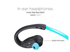 Image 4 - Dacom Atleet G05 Bluetooth 4.1 Headset Draadloze Sport Hoofdtelefoon Oortelefoon Microfoon Headset voor iPhone/Samsung