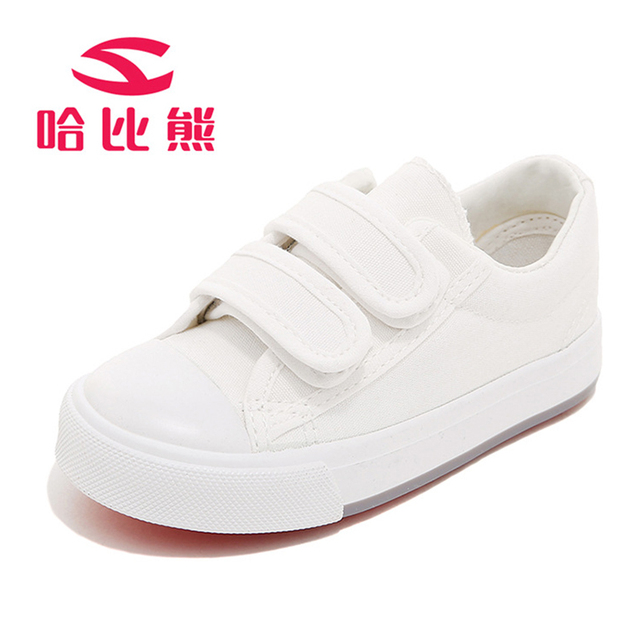 Children Shoes Kids Canvas Breathable Boys and Girls Classical White Black Casual  Shoes Students Sports Kids Running Shoes f71dc17feccc