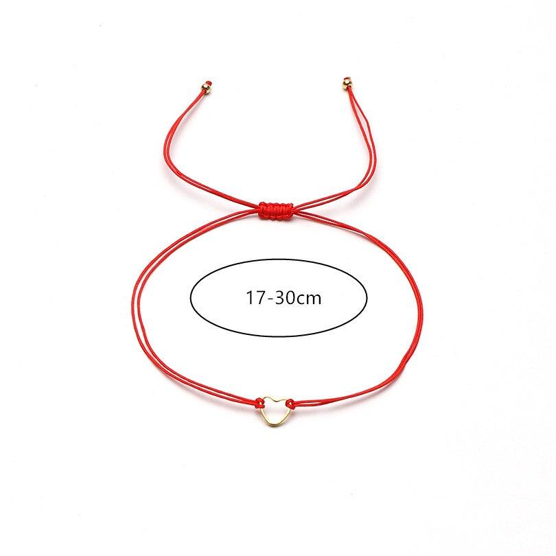G. YCX серебряный золотой браслет в форме сердца с регулируемой веревочкой, набор для женщин и мужчин, красный браслет His& Her BFF, Парные браслеты для пары