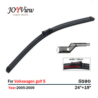 S590 Wipers Size 24 19 Fit For Volkswagen Golf 5 Variant Wiper Blade Rubber Replacement Essuie