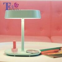 Portable Makeup Mirror LED Light Compact Desktop Vanity Rotatable Folding Mirrors Small Sensing Lamp Cosmetic Tools Travel