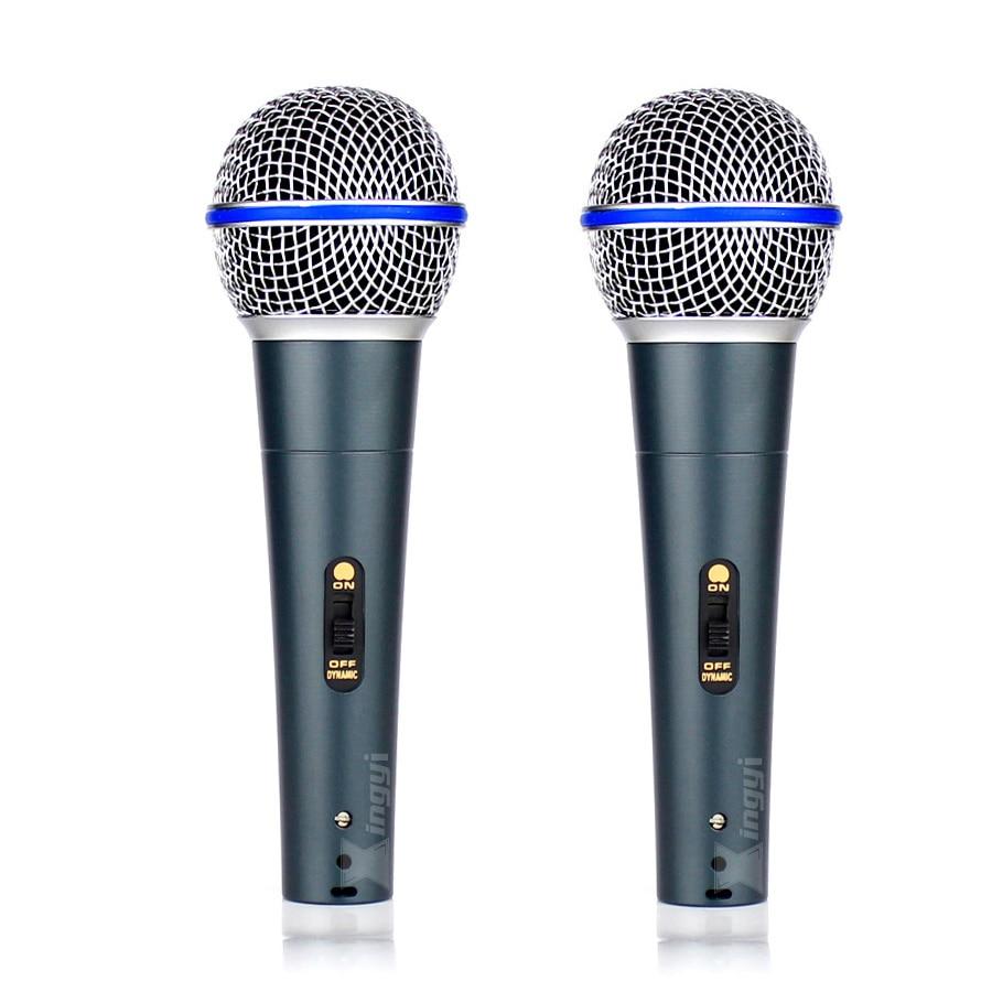 2 шт Профессиональный коммутатор ручной микрофон вокальный динамик микрофон для Бета 58A BETA58A музыкальный плеер петь Регистраторы КТВ DJ конт...
