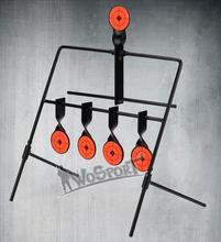 WoSporT 5-Plate Reset Shooting Target Tactical Metal Steel Slingshot BB gun Airsoft