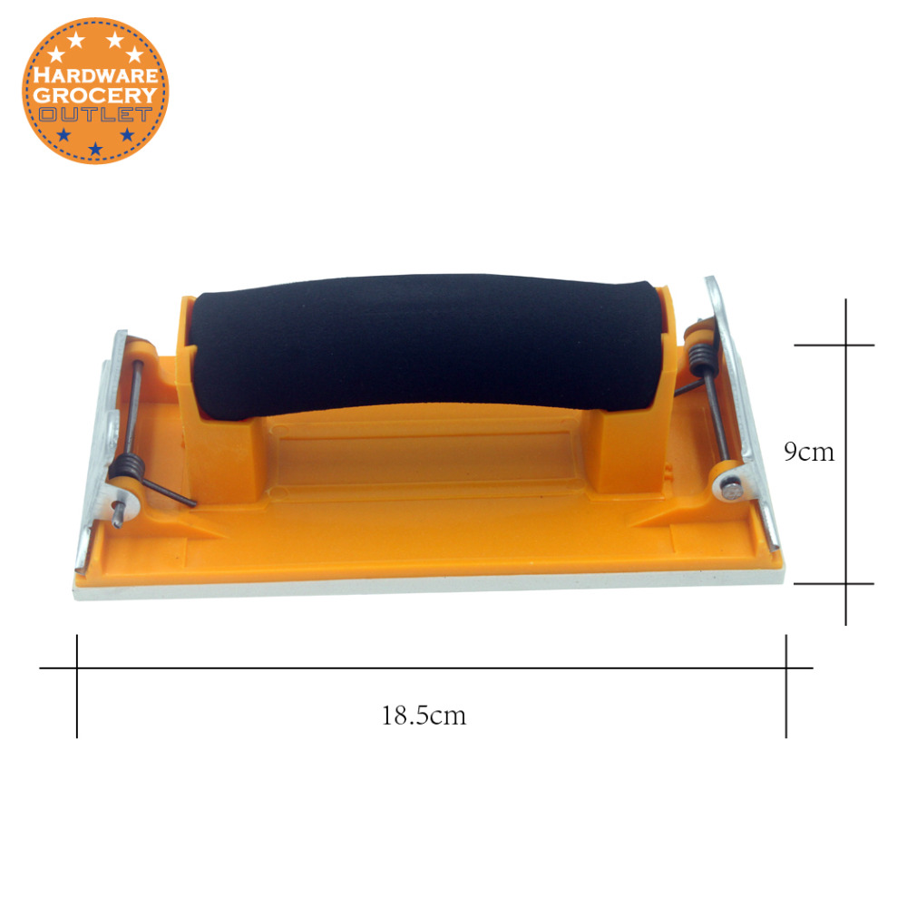 1pc Handheld Sandpaper Sheets Frame Holder, Handheld Hand Grip Sand Paper Frame Sandpaper Holder Matte Paper Frame