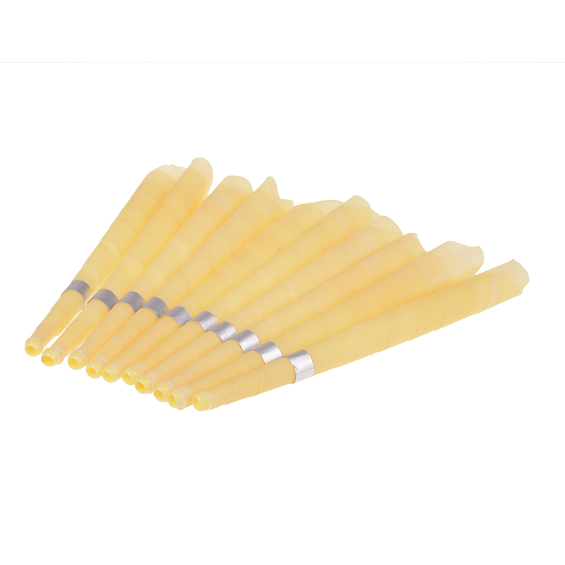 10pcs Natural Ear Candle Ear Care Coning Beewax Ear Candling Therapy Straight Style Thermo-Auricular Therapy Face Lift Tool