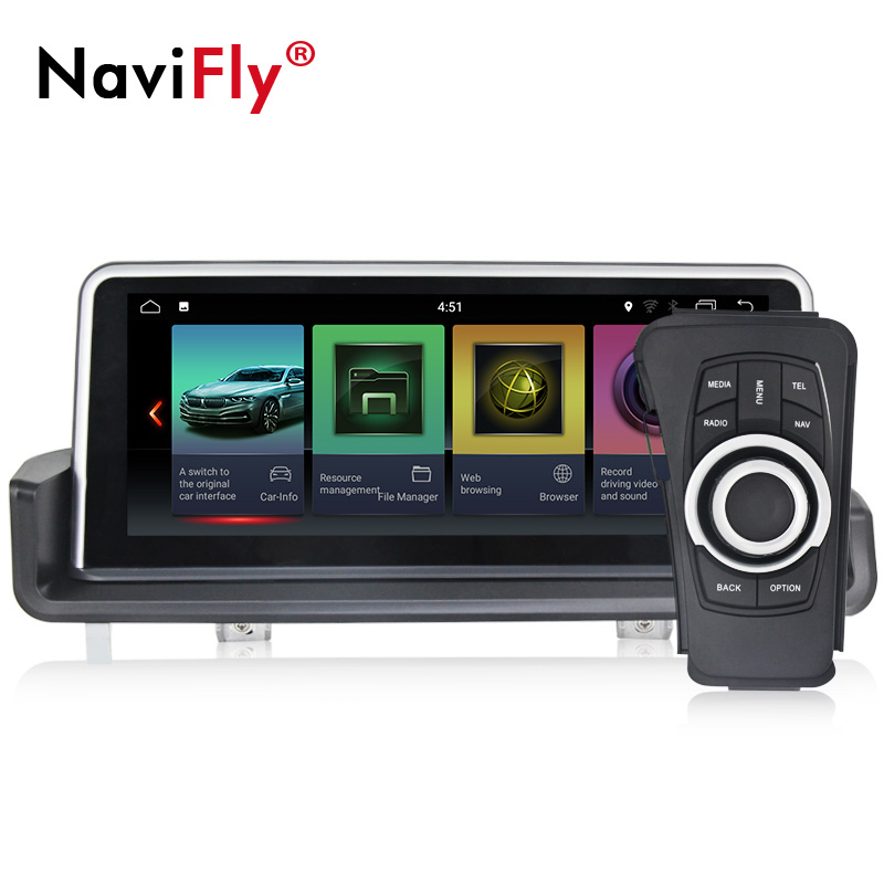 2 GB Ram 10.25 Android 7.1 Voiture Audio GPS Radio Stéréo Pour BMW E90 E91 E92 E93 2005- 2012 Tête Unité Multimédia GPS Navigation