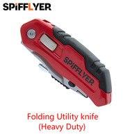 Nhỏ nhỏ Gấp Dao Survival Tactical Dao Pocket Knife Top Hộp Hộp Sống Sót Pater Cutter Có Thể Gập Lại Utility knife Camping