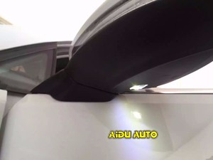 Image 3 - USE For VW Golf 7 MK7 VI Mirror With Cover AUTO folding electric folding Mirror Switch GLASSES Cover 5GG