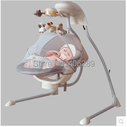 high quality export only Metal Baby Rocking Chair Super Design Baby with Music Jumpers Swings Baby Rocking цены